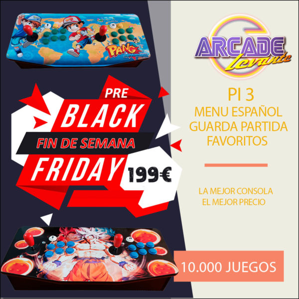 consola arcade black friday