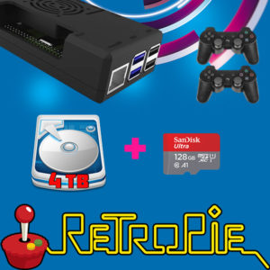 Retropie 4 Terabytes play